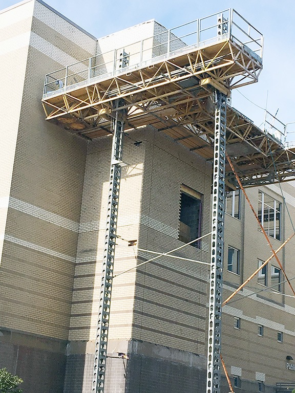 Elevator Under Construction At Otter Tail County Jail Pelican